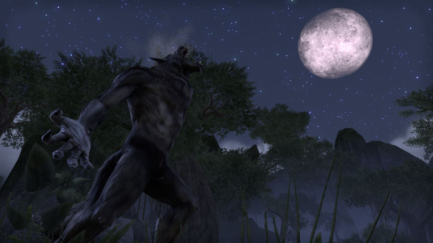 elder scrolls online how to become a werewolf