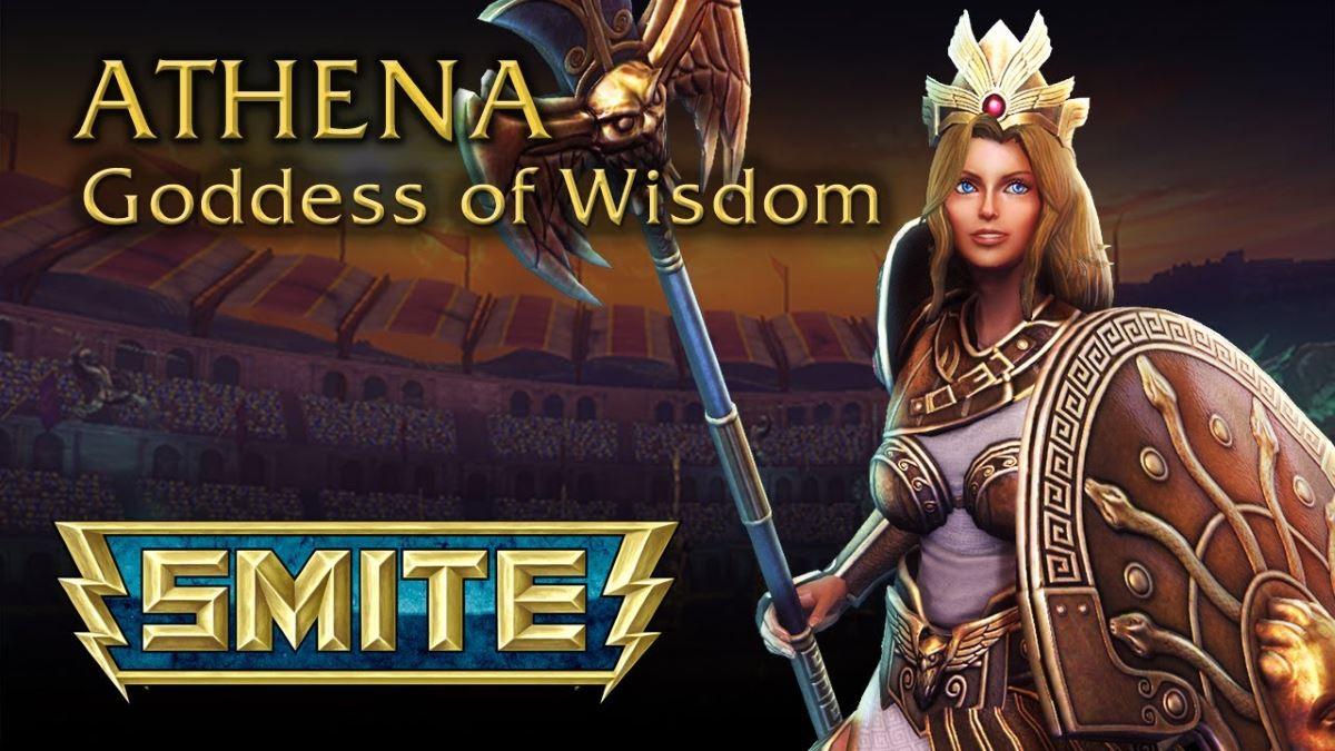 SMITE Gott Athena
