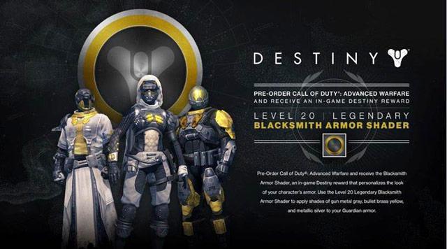 Destiny armor smith