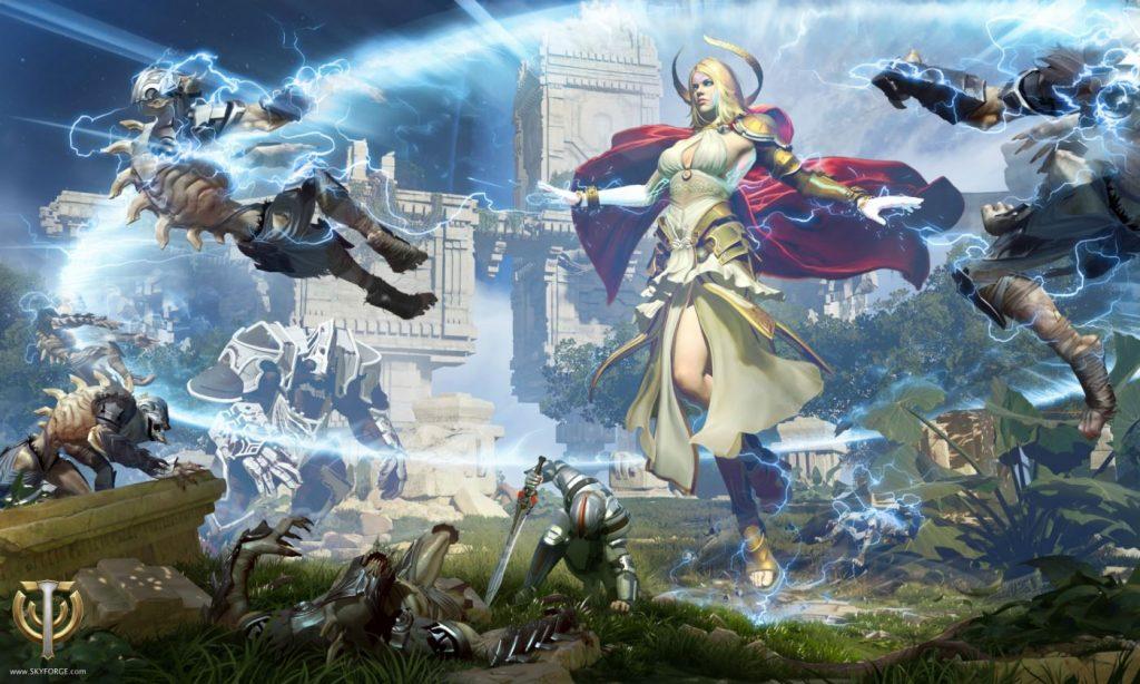 Skyforge Gott