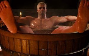 Witcher 3 Bath