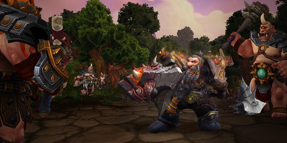 WoW Legion warrior defense