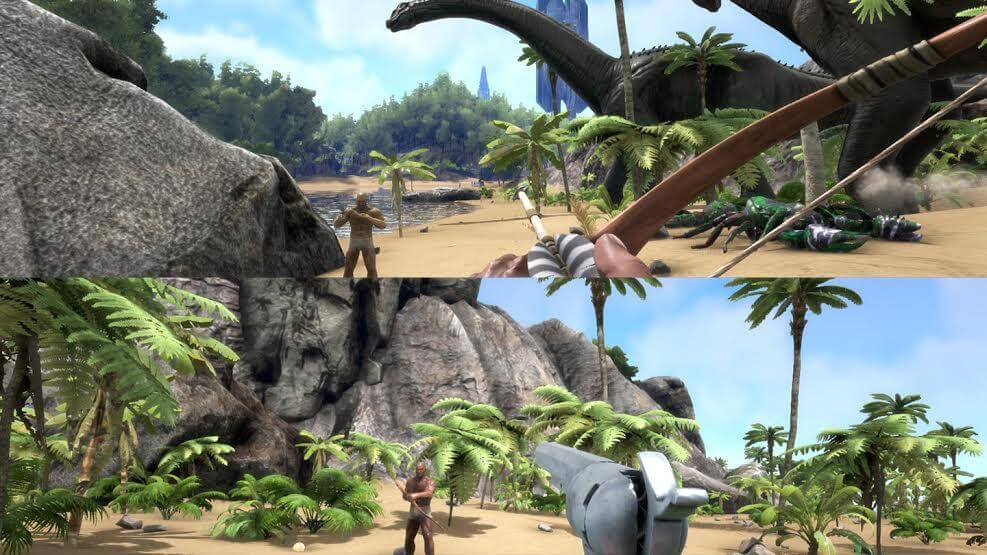 Ark Splitscreen