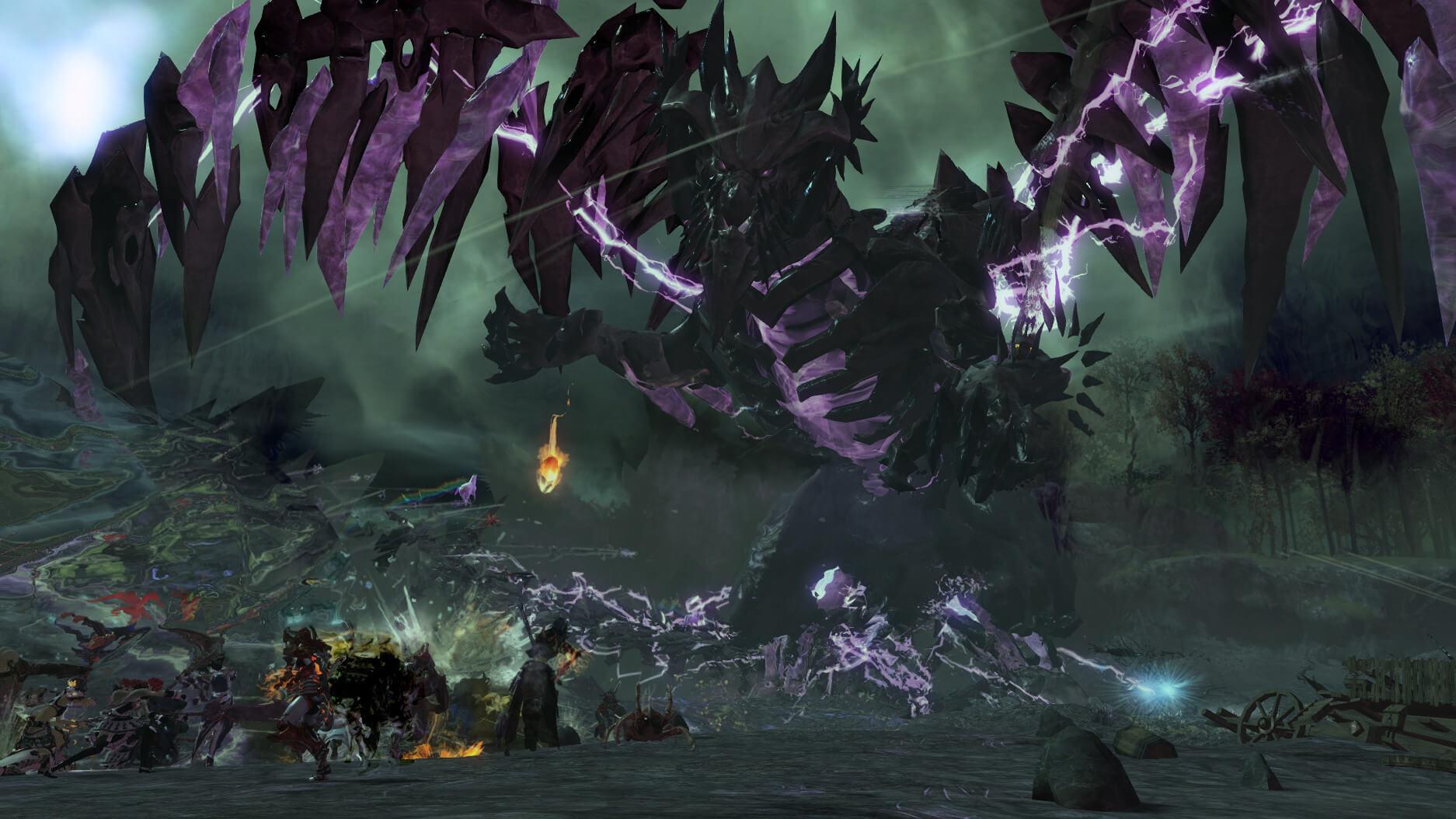 Guild Wars 2 Shatterer Combat