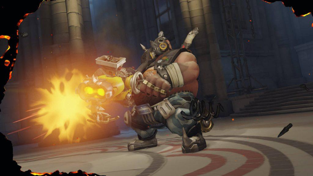 Overwatch Roadhog Shoot