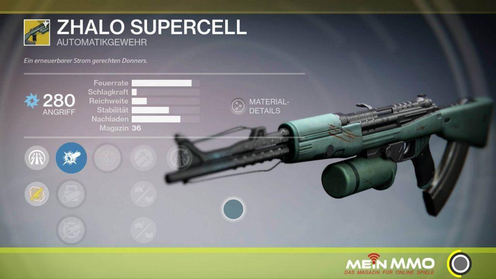 Zhalo Supercell Destiny