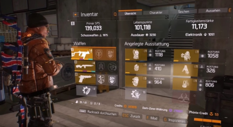 Build Pvp The Division