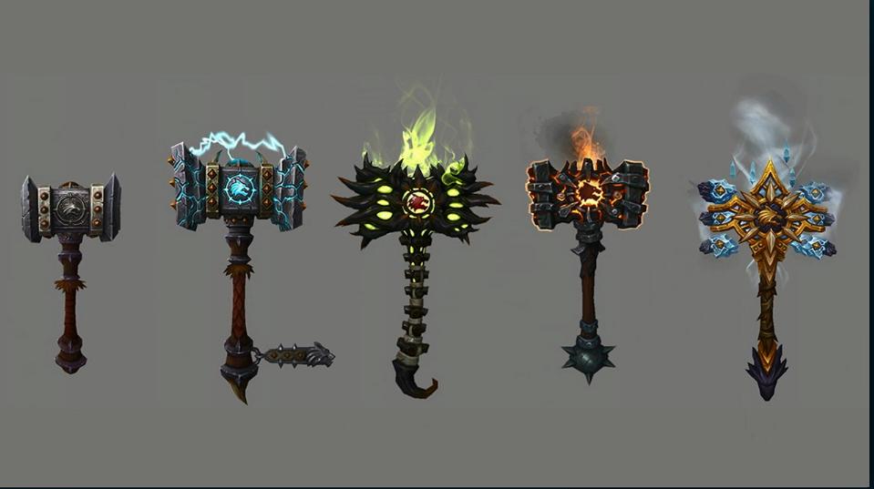 WoW Legion Artifact Shaman Doomhammer