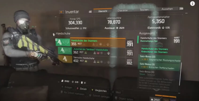 The Division   Gear Build Pve