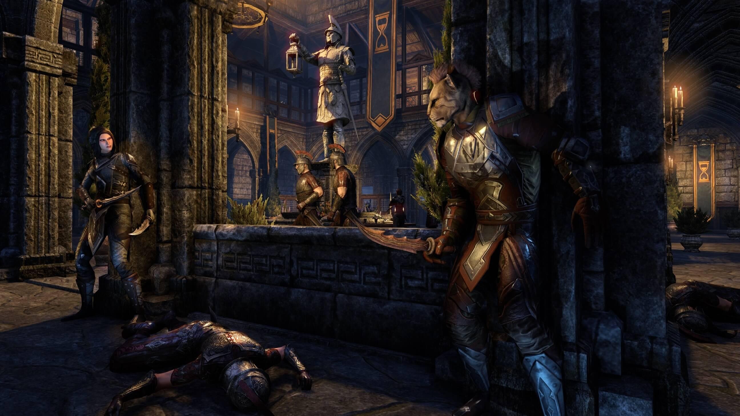 Elder Scrolls Online Tank Build