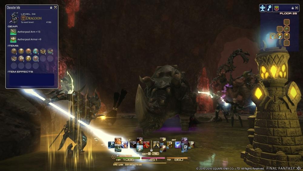 Final Fantasy XIV Deep Dungeon