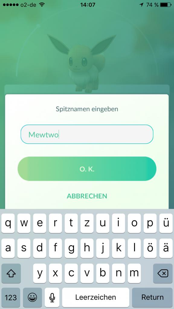 Pokemon GO Evoli Mewtwo