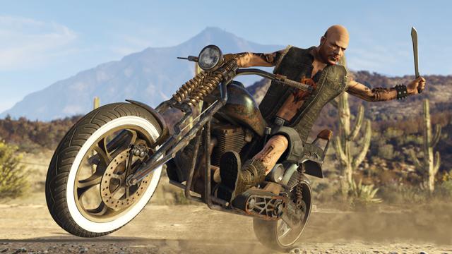 GTA 5 Online Bikers