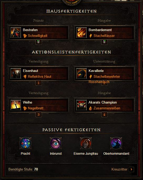 Diablo Crusader Build Season