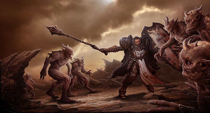 Diablo 3 Fanart Crusader