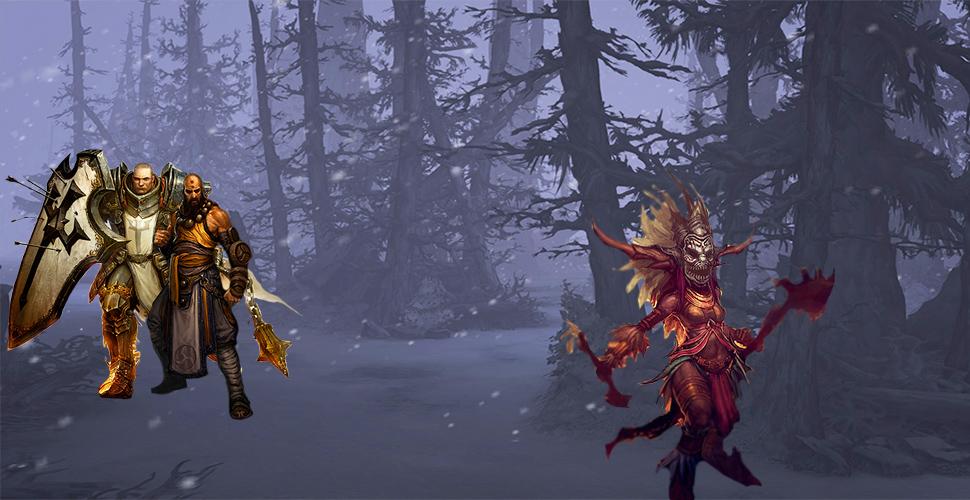 Diablo 3 Klassen Banner Titel