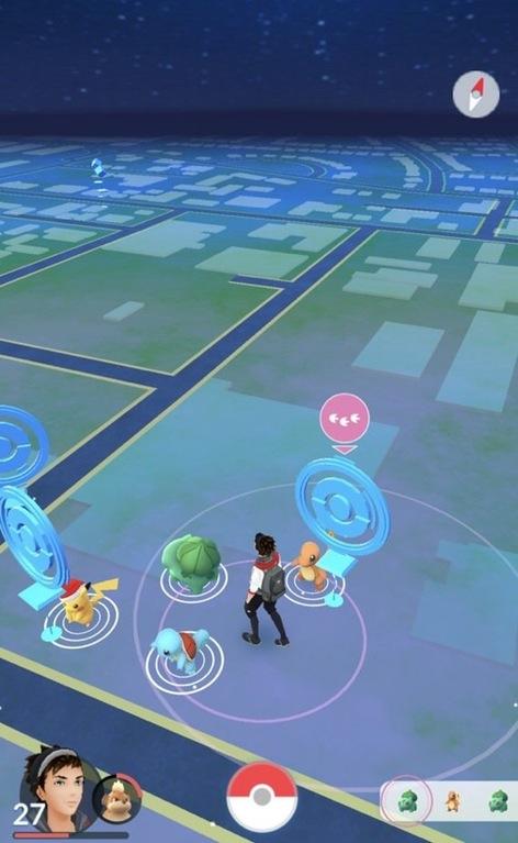 Pokémon GO Familie Starter