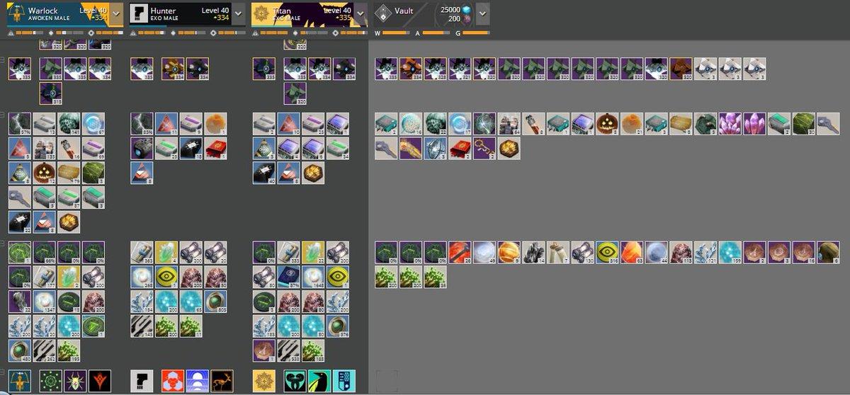 Destiny item manager loadout hack