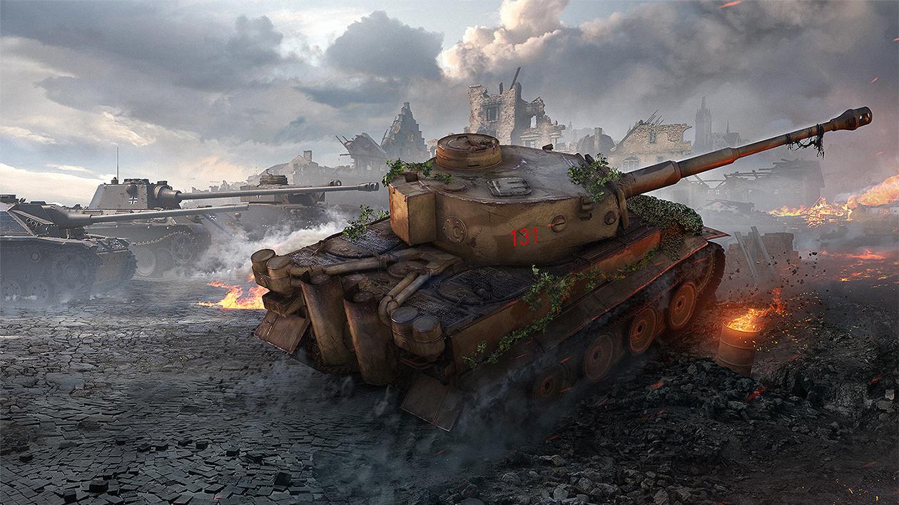 W.tiger World Of Tanks World of Tanks 9.19 - ...