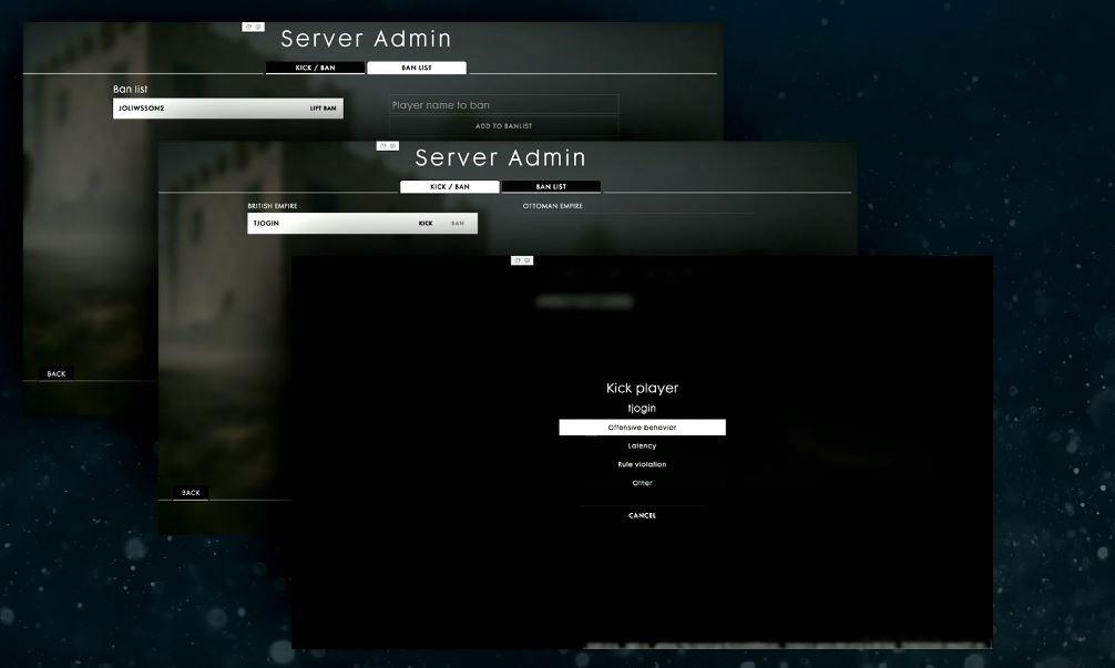 Battlefield 1 Spieler kicken neu Livestream