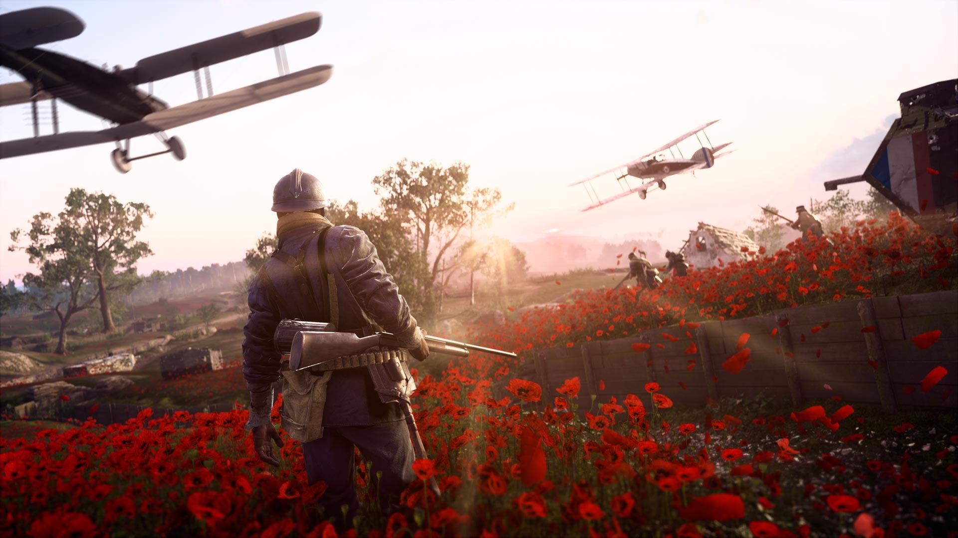 Battlefield 1 They Shall not Pass Soldat Feld Waffe