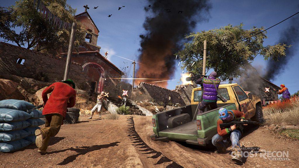 Ghost Recon Wildlands Screenshot Kampf