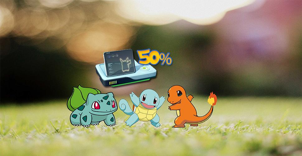 Pokémon GO Taschenplätze Sale Titel