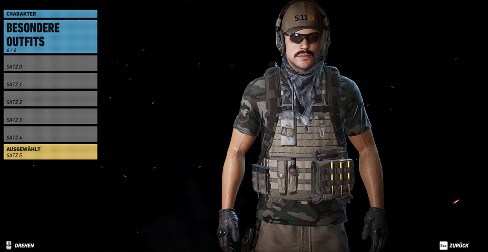 Ghost Recon Wildlands Outfits