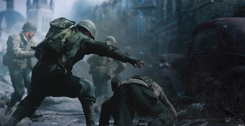 Der Multiplayer-Modus von Call of Duty: WW2 im Trailer