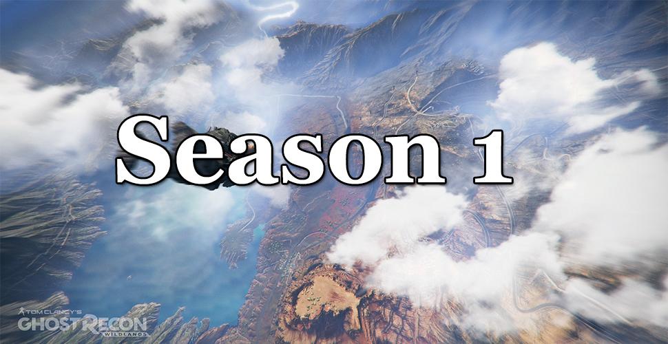 Ghost Recon Wildlands Season 1 Titel