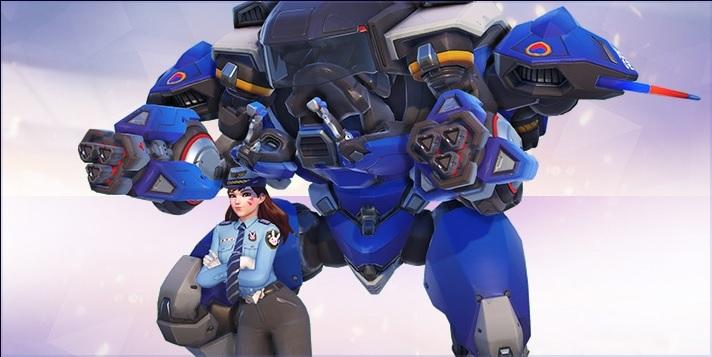 Overwatch Dva Officer