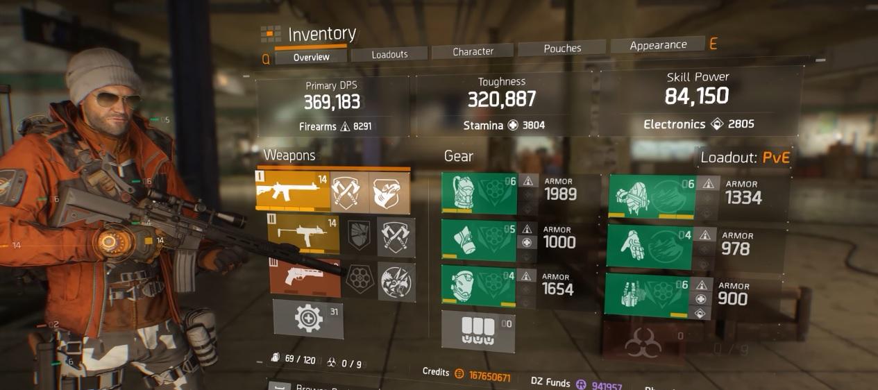 The Division   Striker Nomade Build