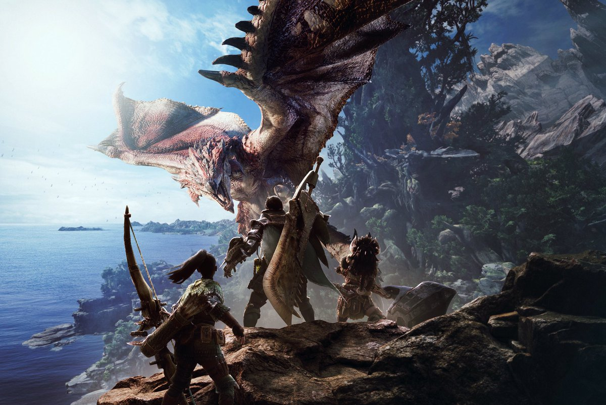 Monster Hunter: World in guten Händen